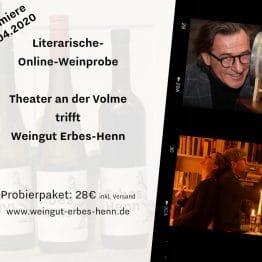 Probierpaket trocken literarische Online Weinprobe