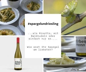 Riesling-Risotto mit Spargel