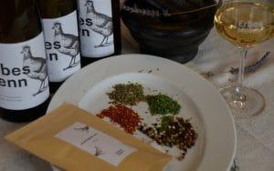 Gewürze und Riesling Online Weinprobe